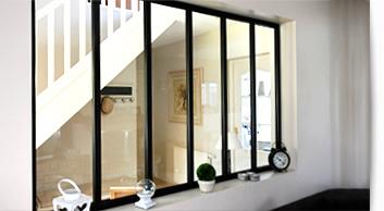 Séparations Métalliques Intérieur Habitat   Séparations Métalliques  Intérieur Habitat   Verrières Interieure   Profil Plus Pro
